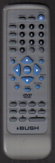 BUSH DVD2047 Remote